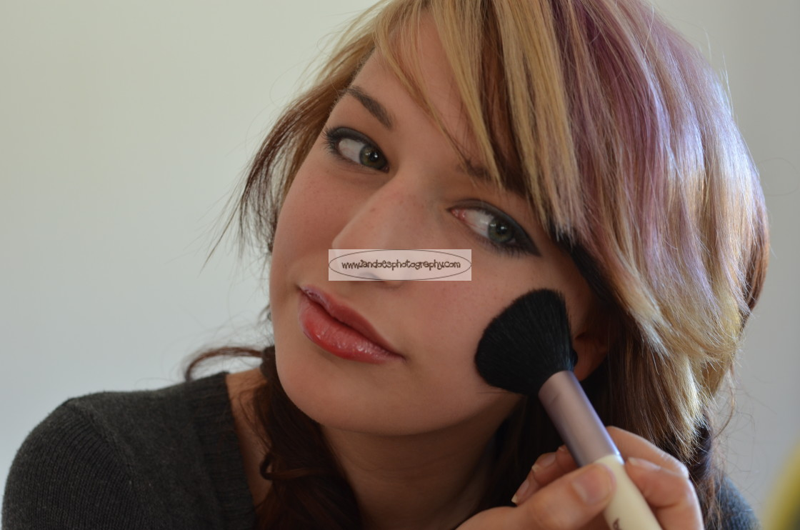 """Makeup"" stock image"
