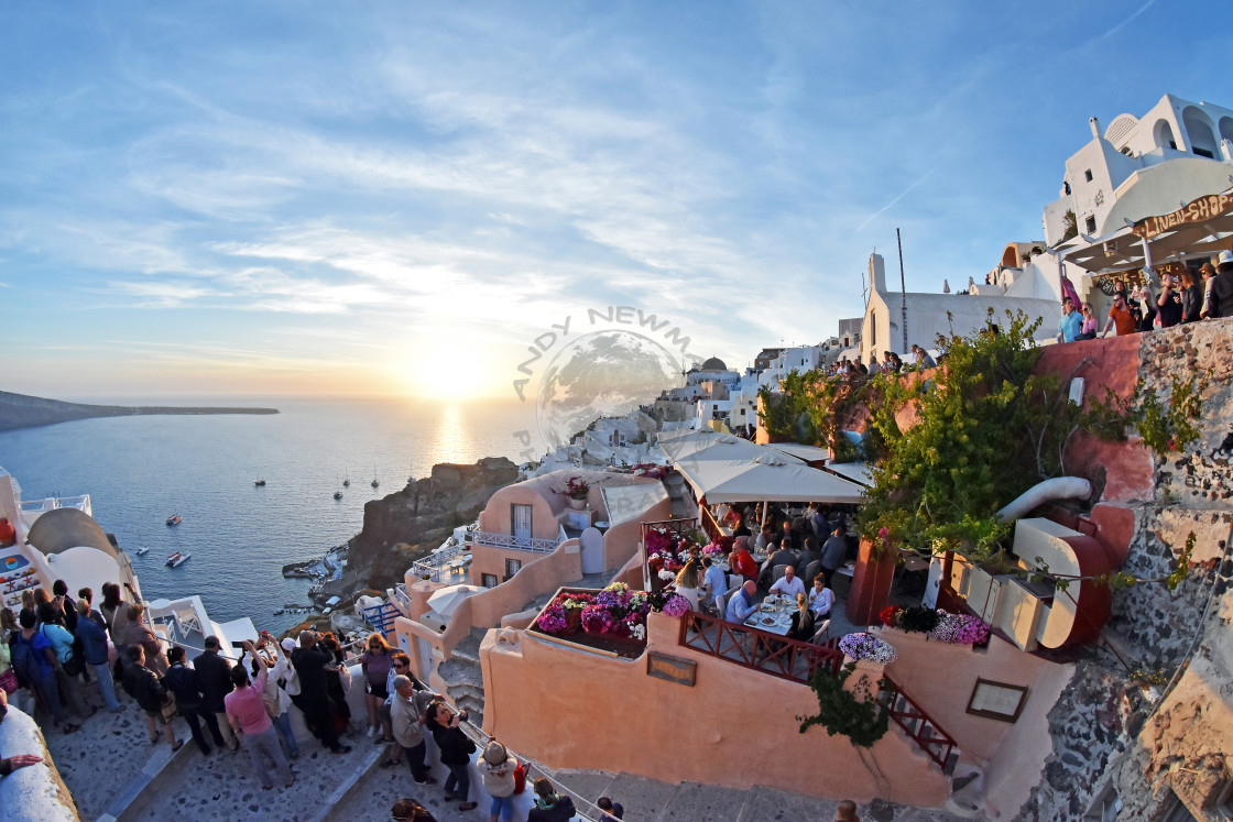 """Oia Santorini, Greece."" stock image"