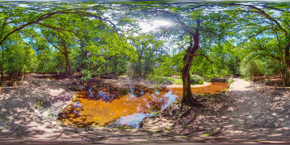 """Ober water in stream (digital art)"" stock image"