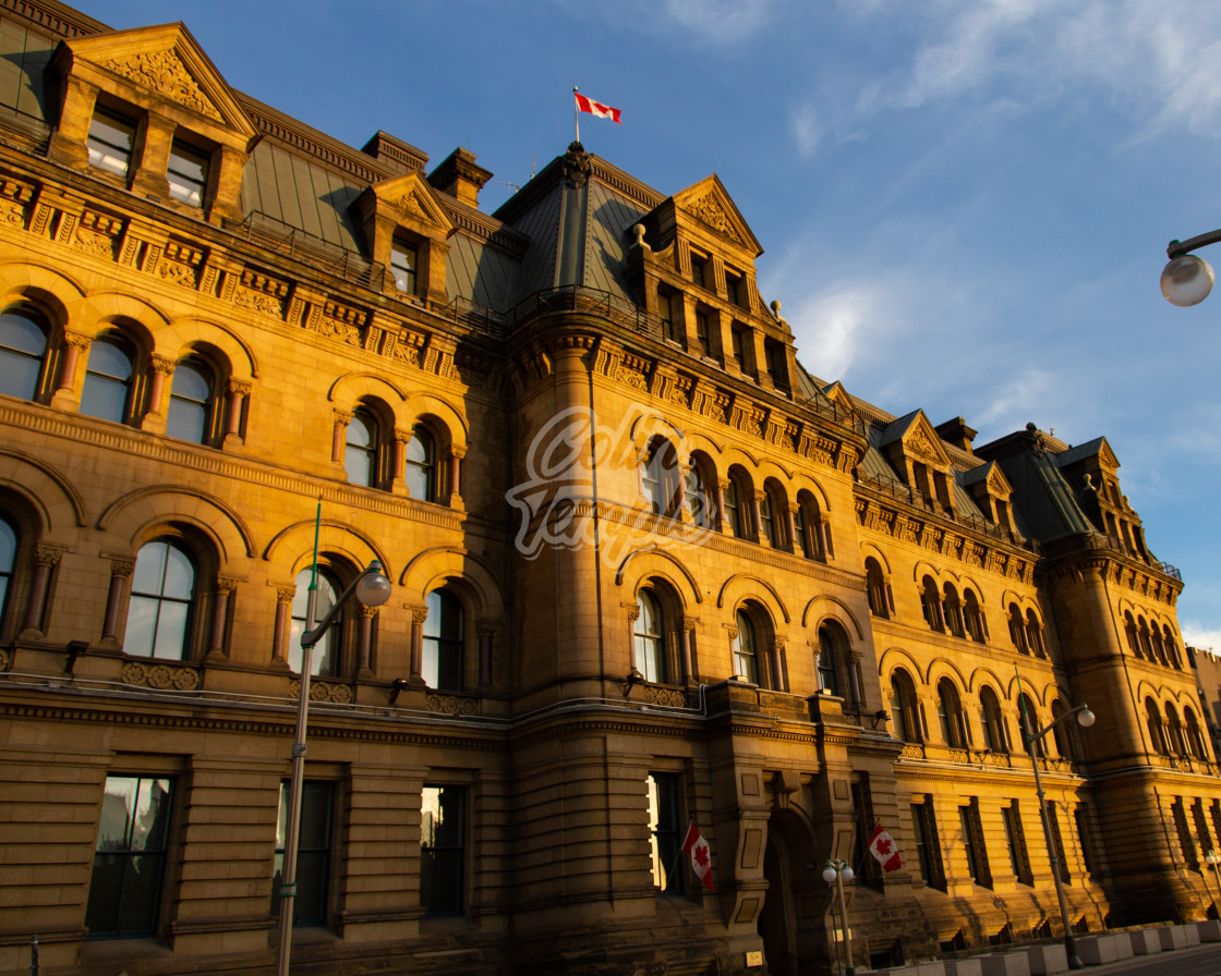 """Office of the Prime Minister and Privy Council"" stock image"