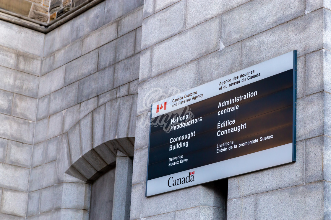 """CRA National Headquarters in Ottawa"" stock image"