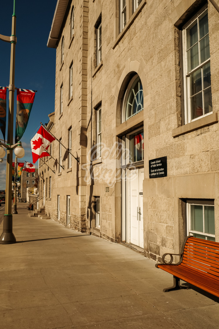 """Canada School of Public Service"" stock image"