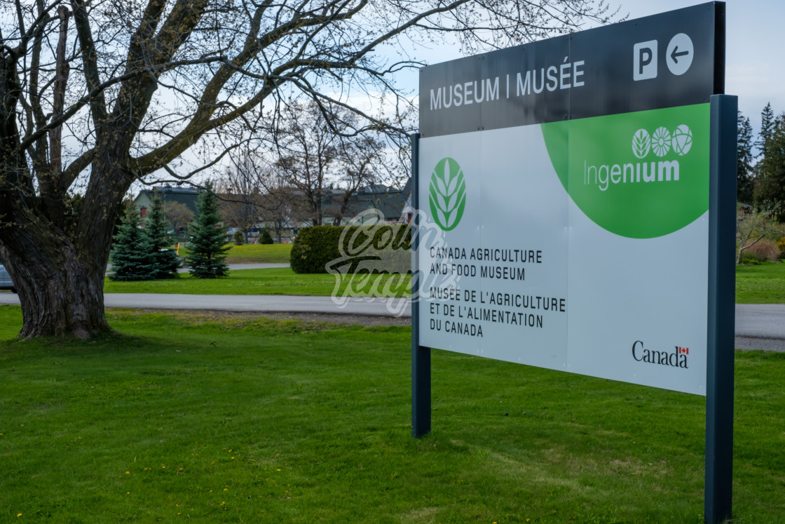 """""""Canadian Agriculture and Food Museum in Ottawa"""" stock image"""