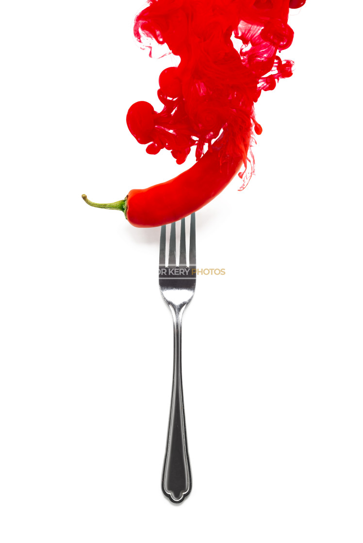 """""""Red Hot Chilli Pepper"""" stock image"""