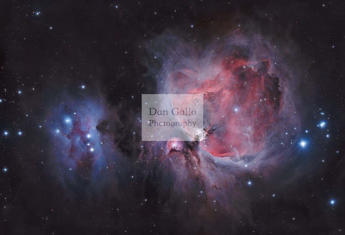 """Orion Nebula"" stock image"