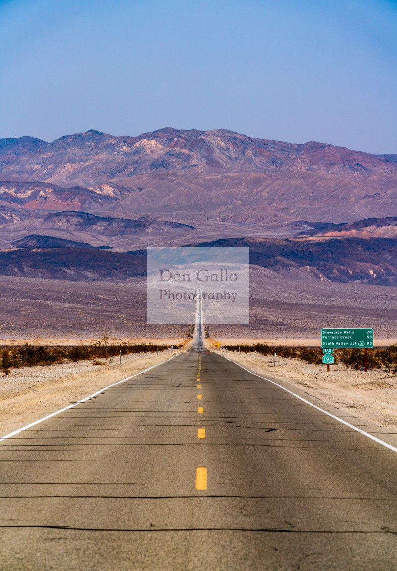 """Long Mountain Road"" stock image"