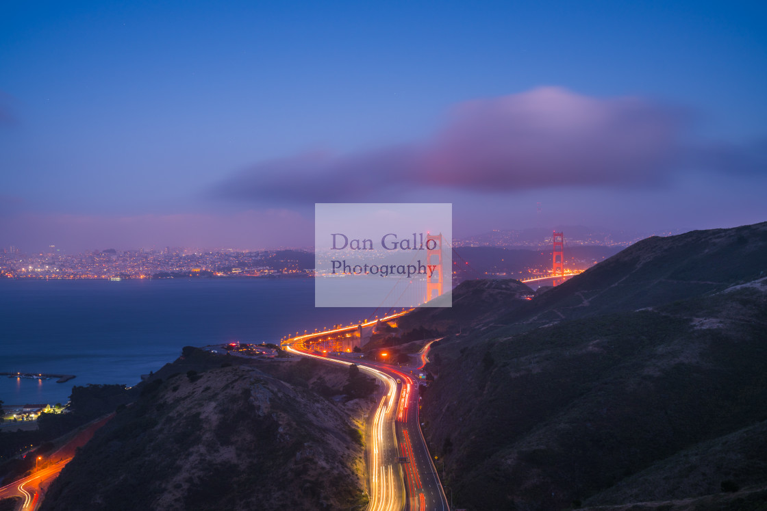 """Golden Gate Traffic"" stock image"