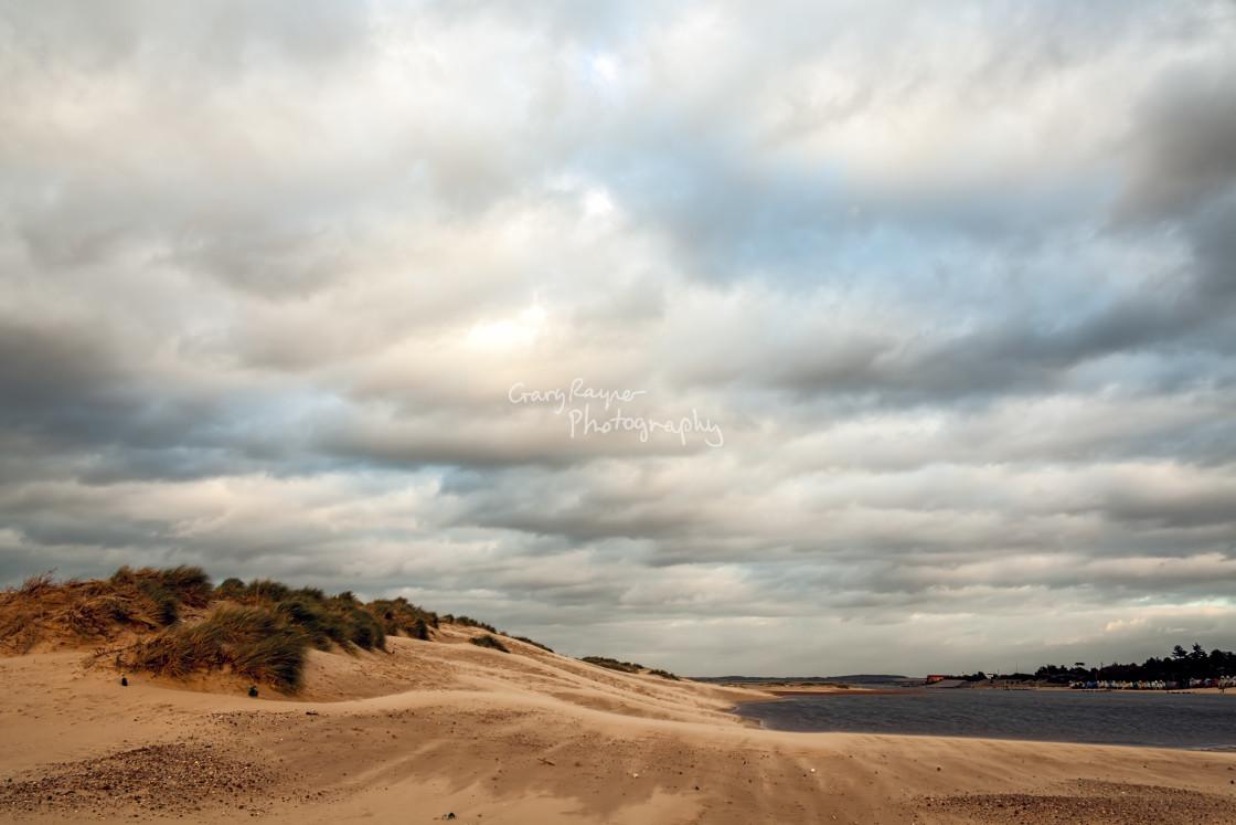 """Wells Beach"" stock image"