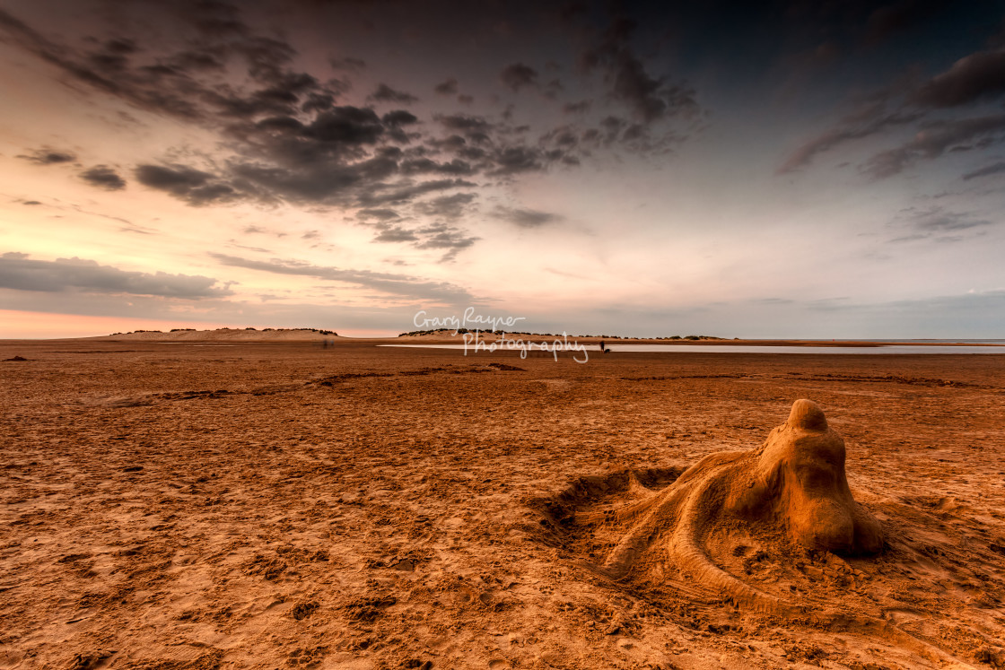 """""""View to the Dunes"""" stock image"""