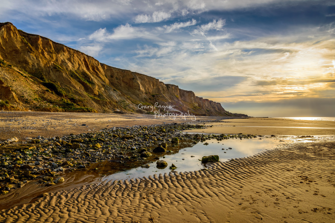 """North Norfolk Cliffs"" stock image"