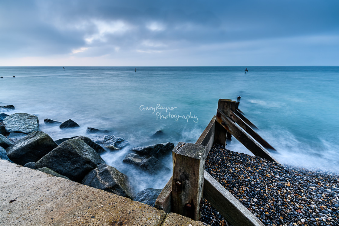 """Sherringham Twilight"" stock image"
