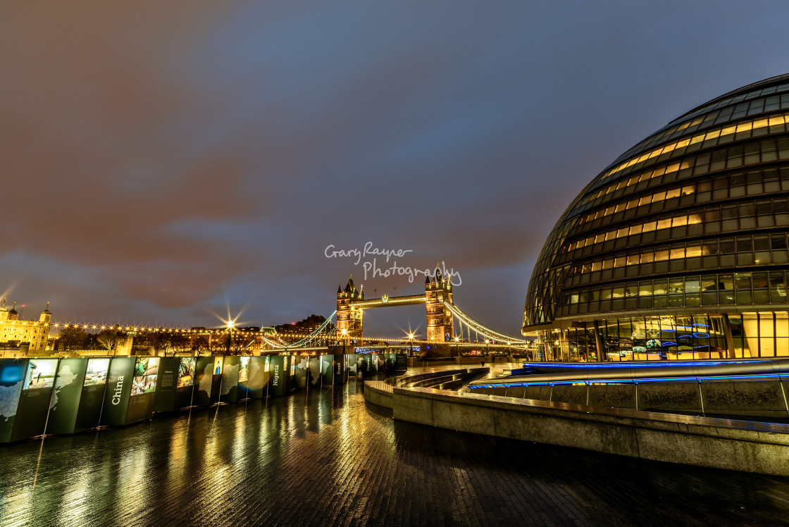 """City Hall London"" stock image"