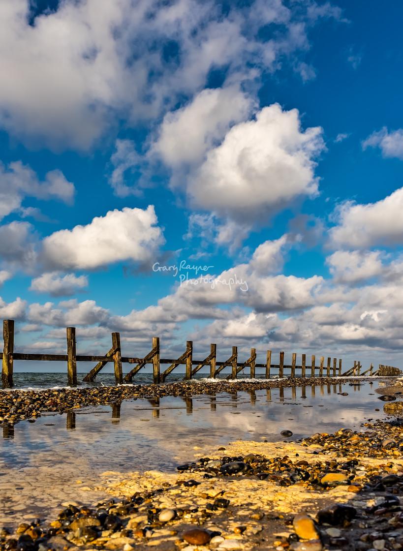 """Beeston Regis Beach"" stock image"