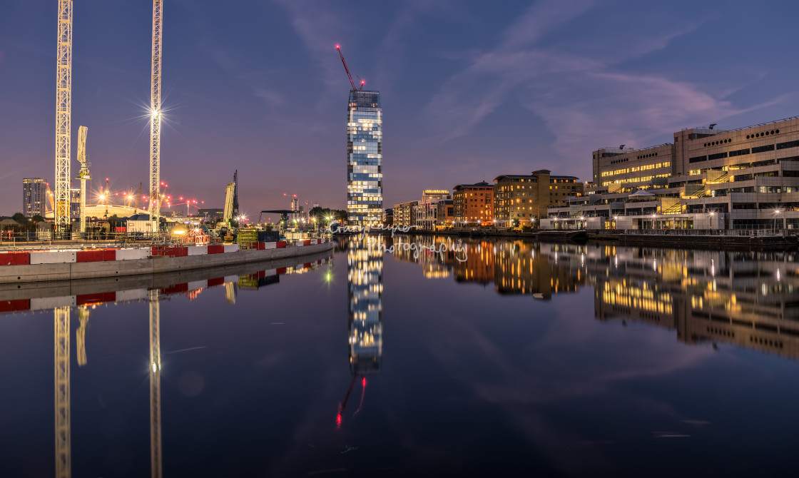 """Londons Docklands"" stock image"