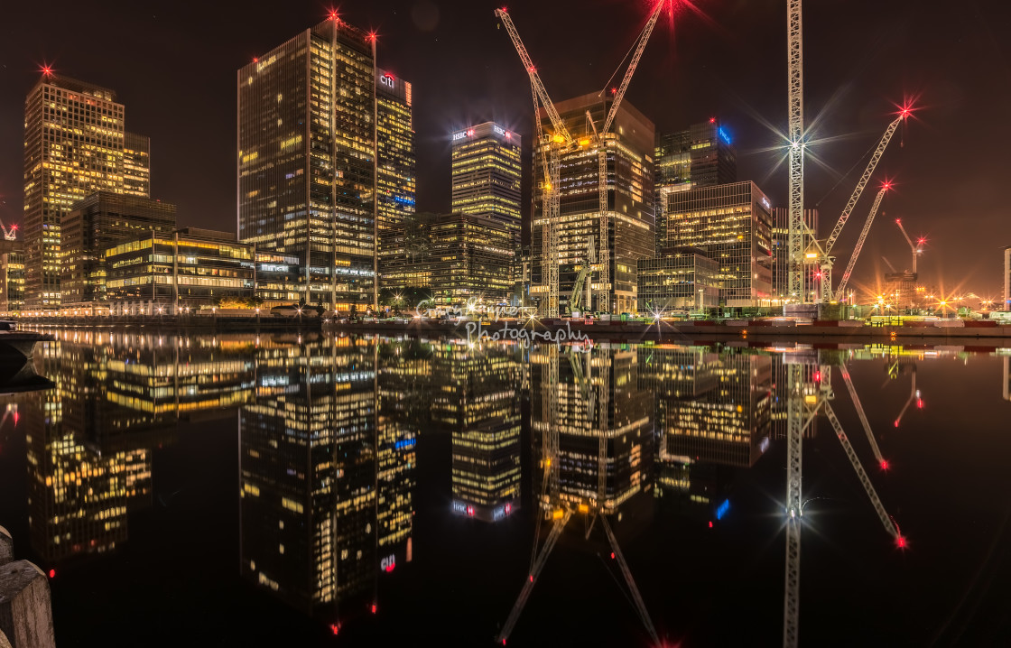 """Canary Warf London"" stock image"