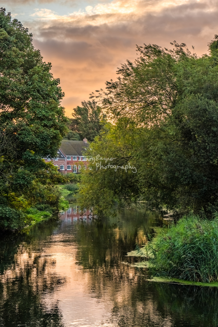 """Dawn in Norwich"" stock image"