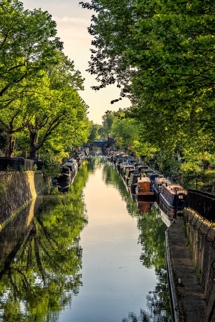 """Canal View"" stock image"