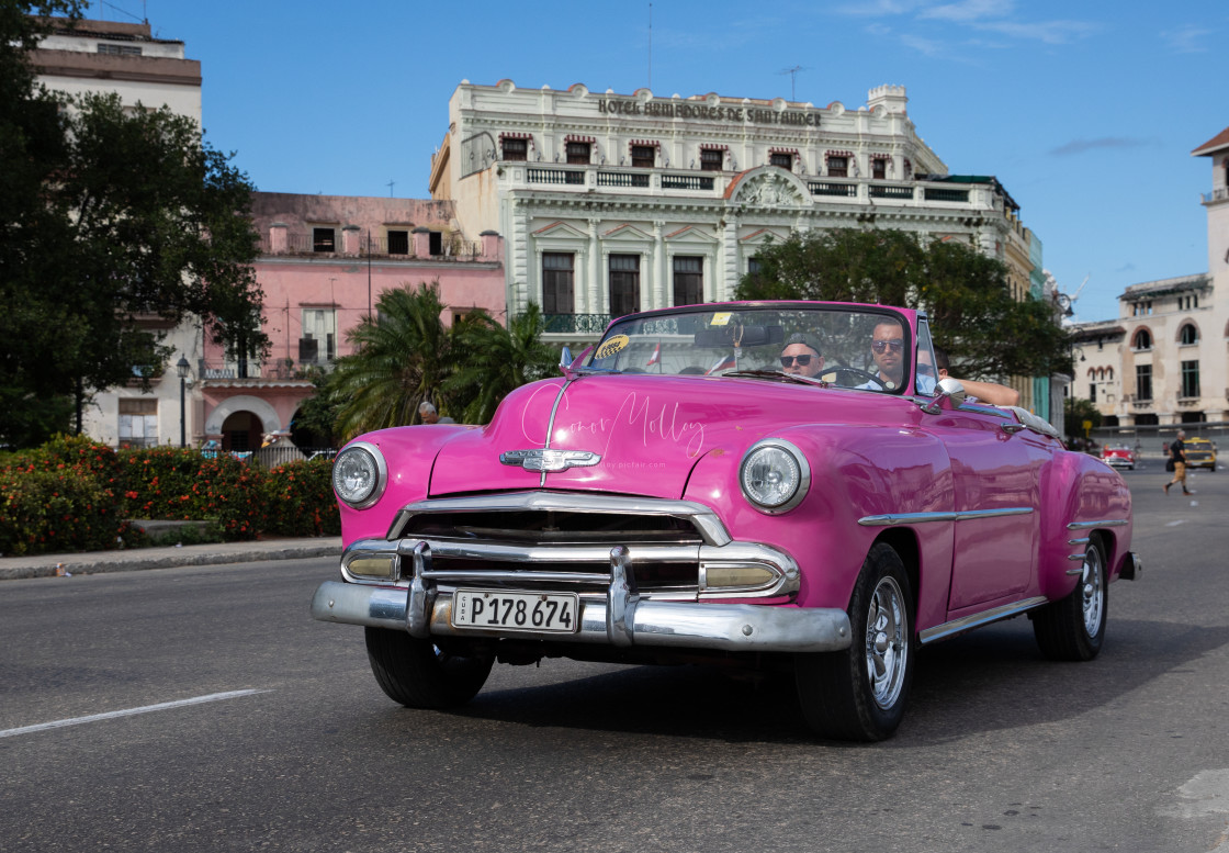 """""""Old cars of Cuba"""" stock image"""
