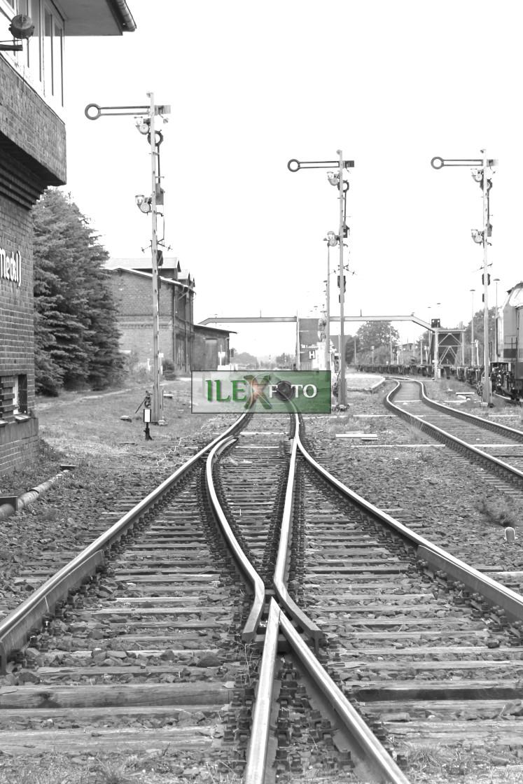 """""""Empty tracks"""" stock image"""