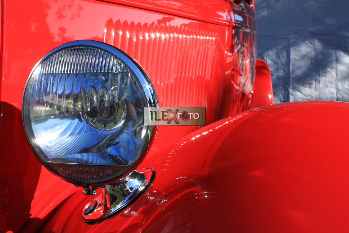 """""""Red-hot hotrod"""" stock image"""