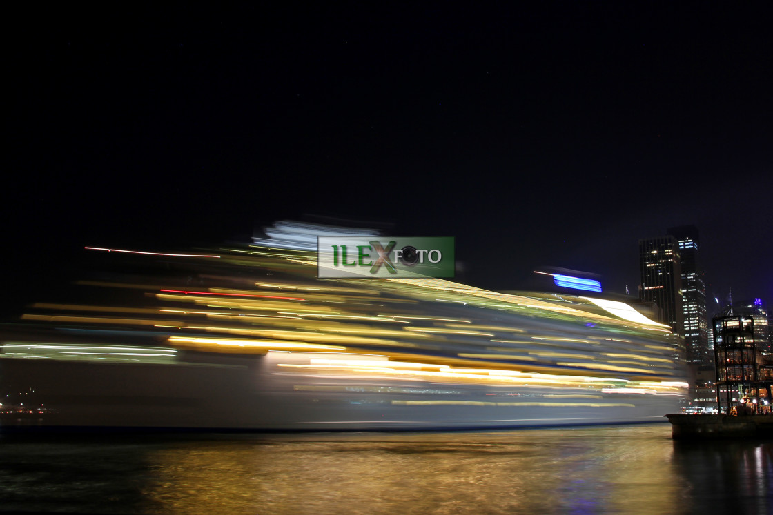 """Leaving port"" stock image"