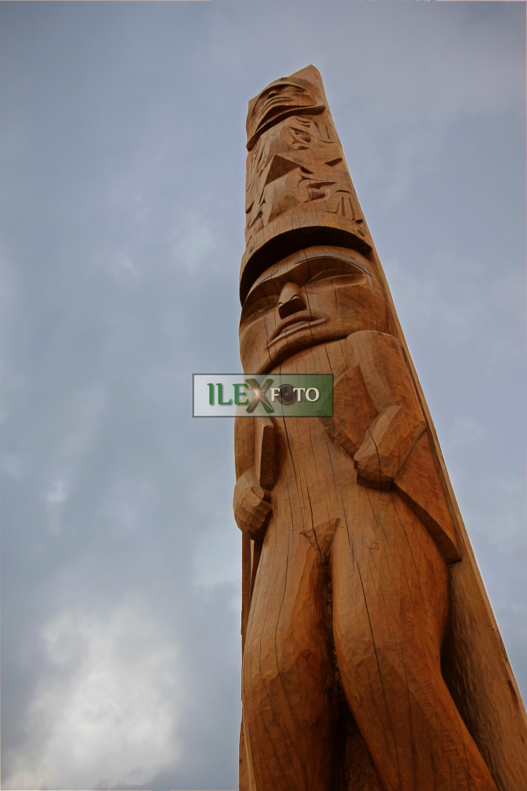 """""""Pacific totem"""" stock image"""