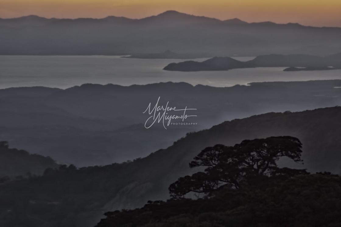 """""""Nicoya Bay Sunset"""" stock image"""