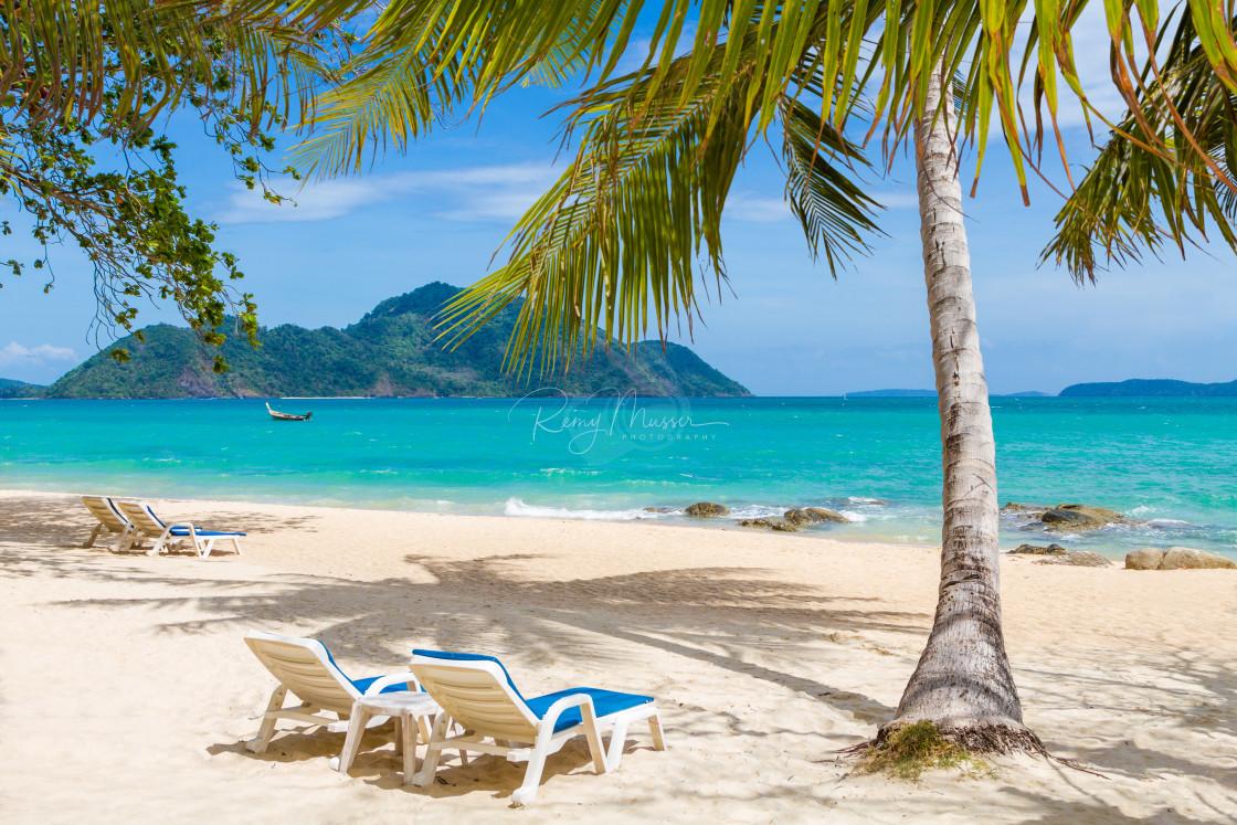 """LAEM KA BEACH in Phuket island"" stock image"