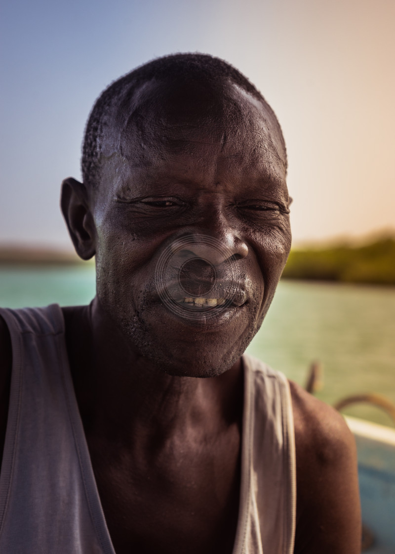 """The riverboat man"" stock image"