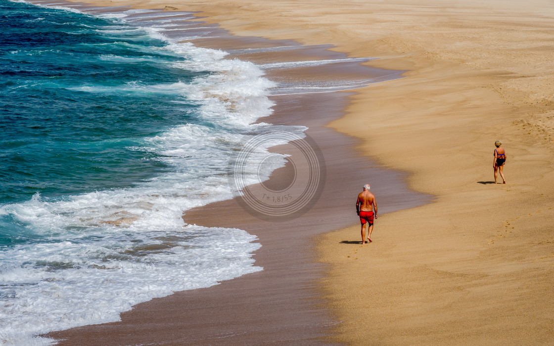 """Pensioners in Portugal"" stock image"