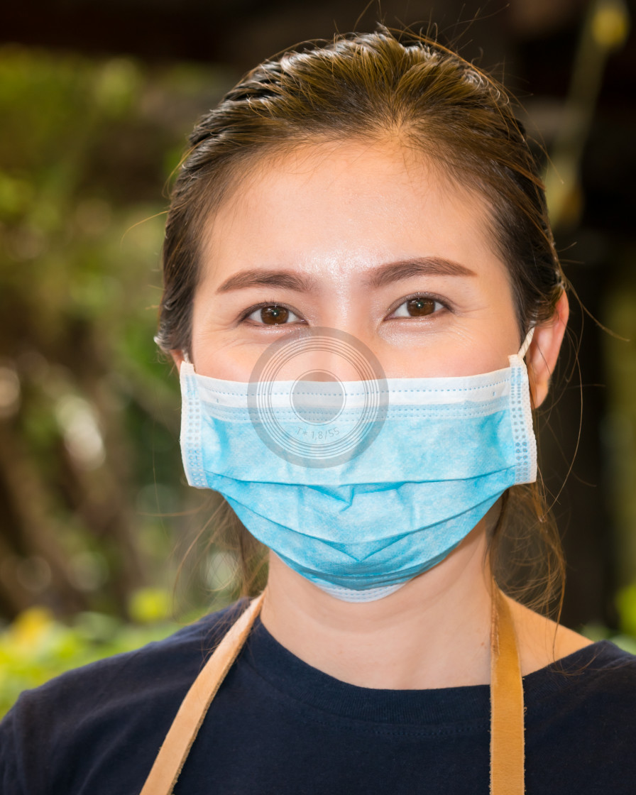 """Beauty behind the mask"" stock image"