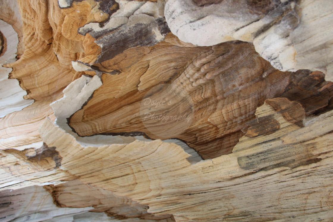 """Patterns in Sandstone"" stock image"