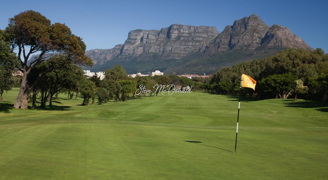 """Rondebosch Golf Club"" stock image"