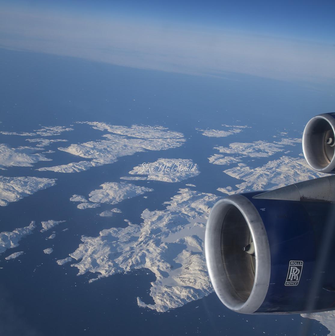 """Eastern Greenland"" stock image"