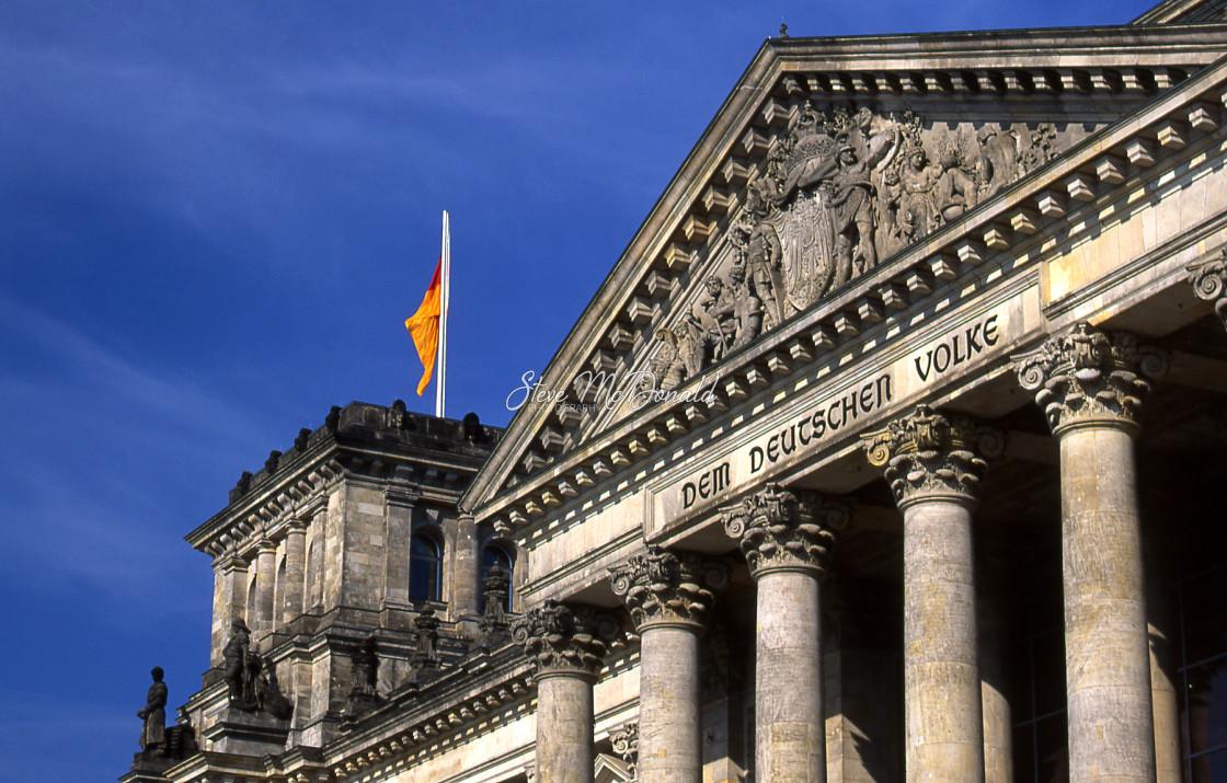 """German Parliament Building"" stock image"