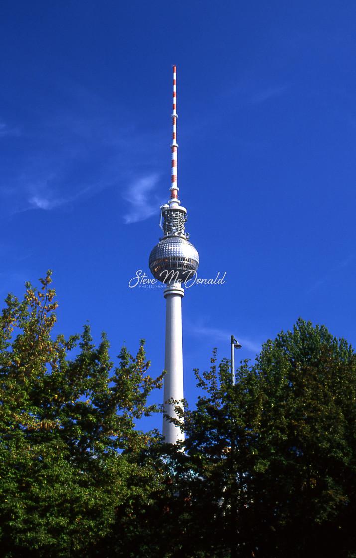 """Berlin Tower"" stock image"