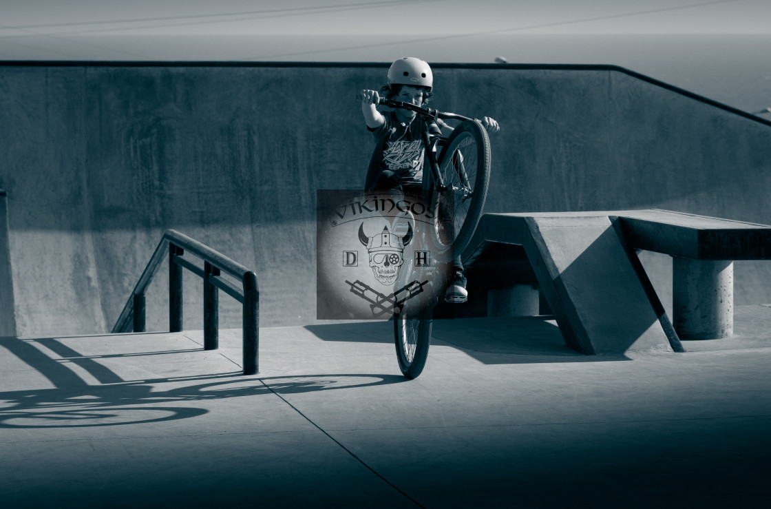 """""""La Poma Skatepark"""" stock image"""