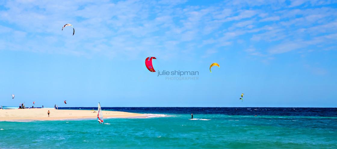 """""""Play at La Playa"""" stock image"""