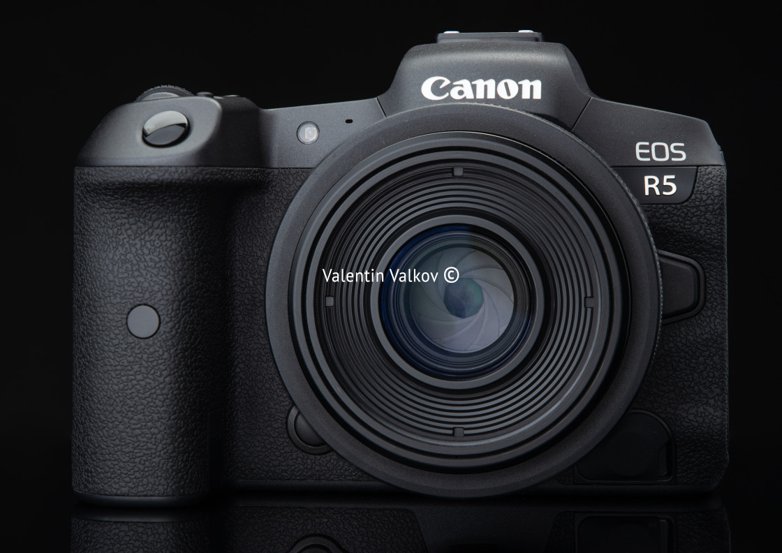 """Varna, Bulgaria - November 07,2020: Image of Canon EOS R5 Mirror"" stock image"