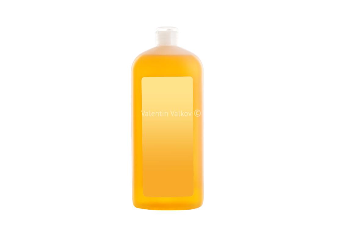 """House cleaning product. Plastic bottle with dishwashing liquid s"" stock image"