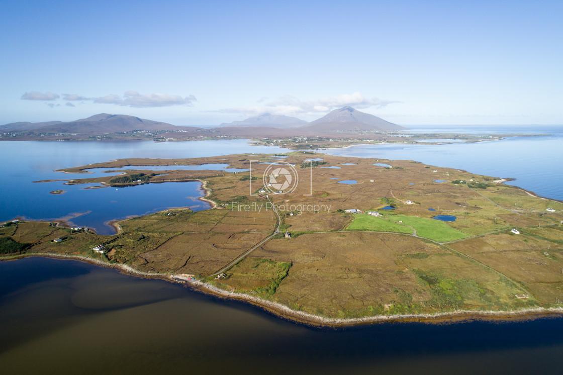 """""""Inishbiggle Island, Co Mayo."""" stock image"""