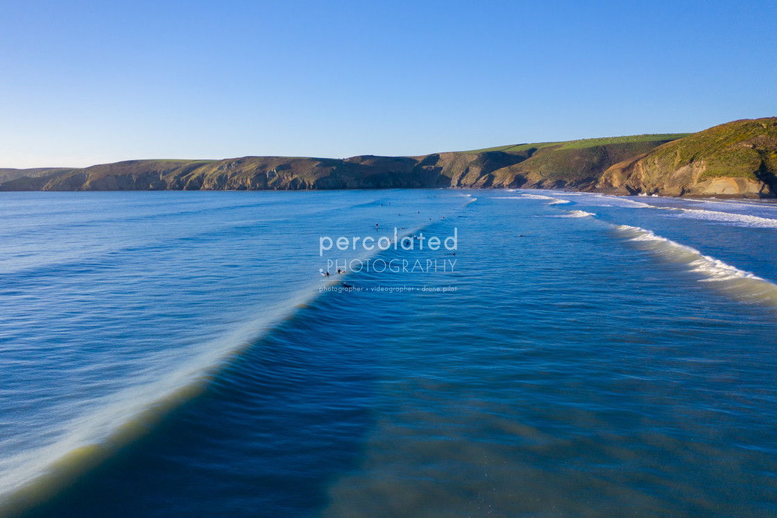 """Newgale beach Wales"" stock image"