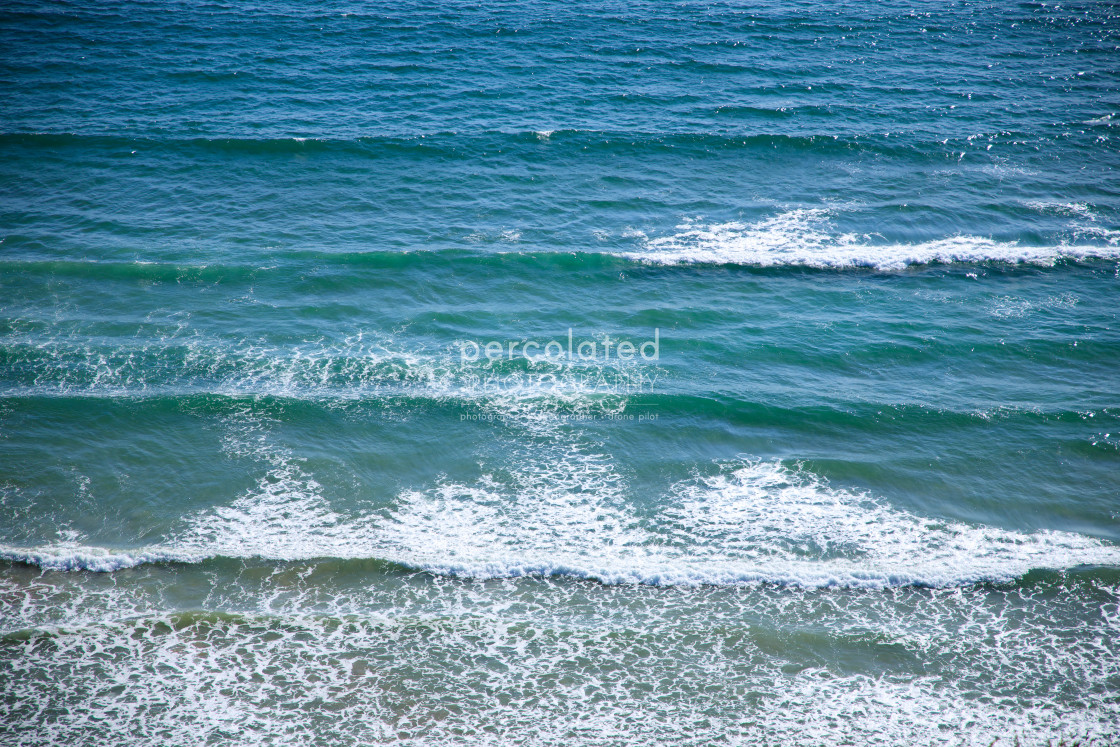 """Summer Waves"" stock image"