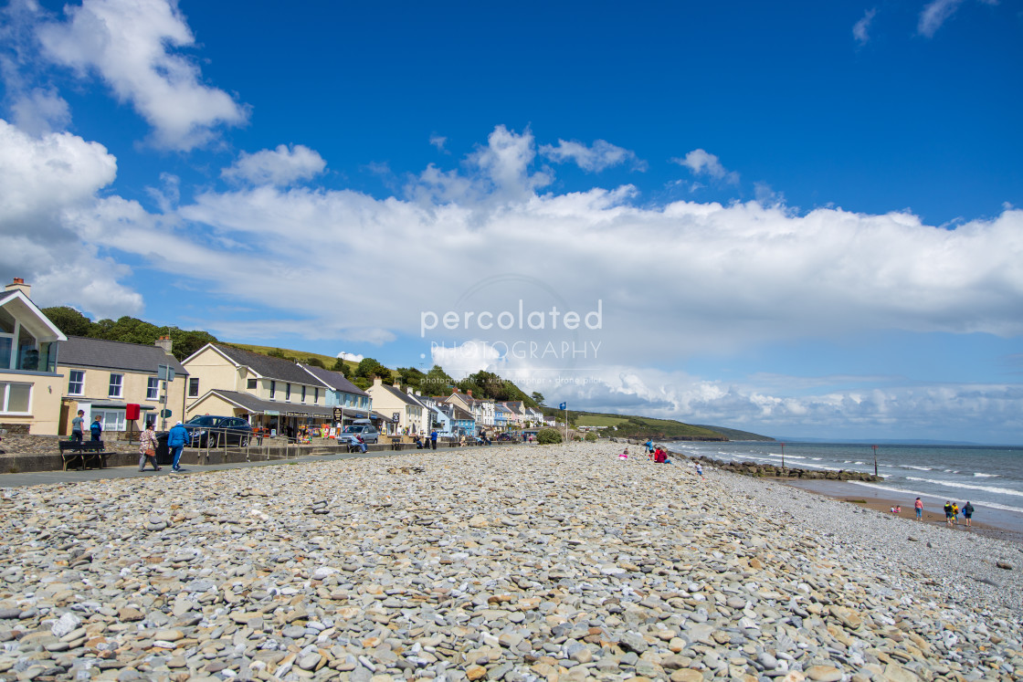 """Amroth Beach"" stock image"