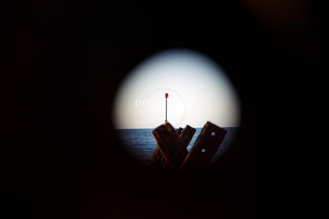 """""""Framed Lateral Navigation Marker"""" stock image"""