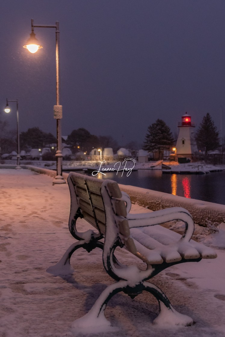 """""""December Has Arrived in Toronto"""" stock image"""