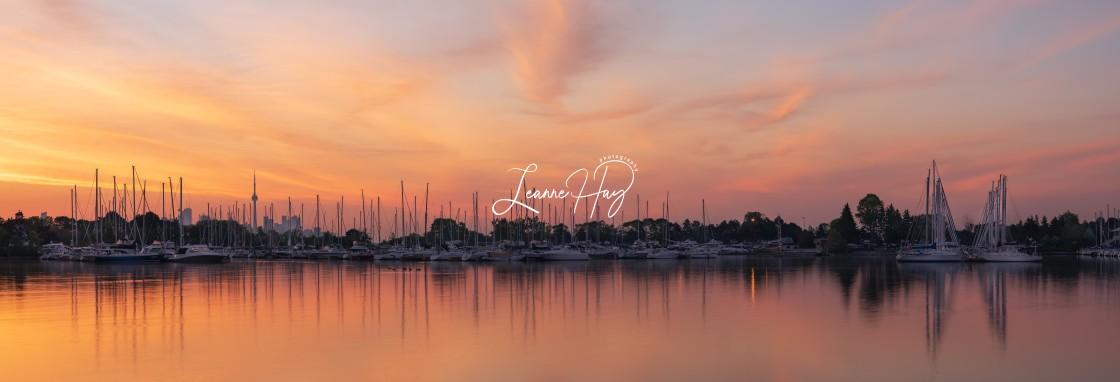 """""""Sunrise Panoramic"""" stock image"""