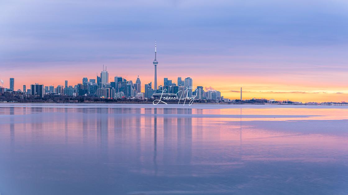 """""""Panoramic Toronto"""" stock image"""