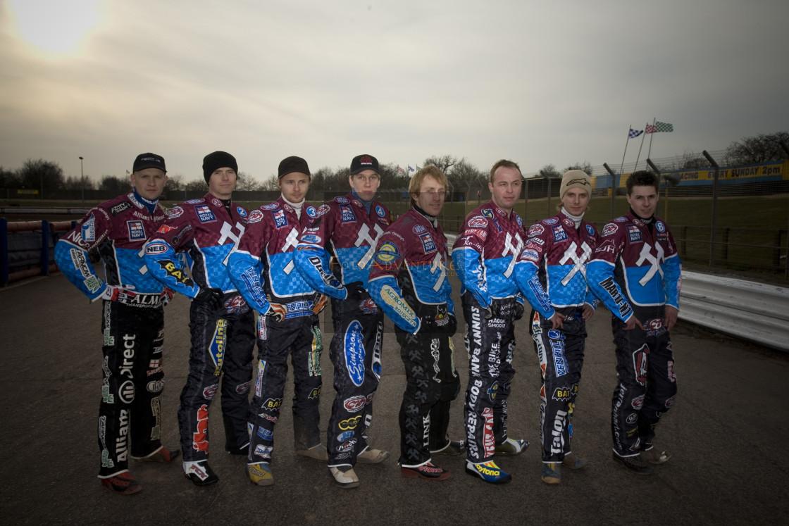 """Lakeside Hammers Team Photo"" stock image"