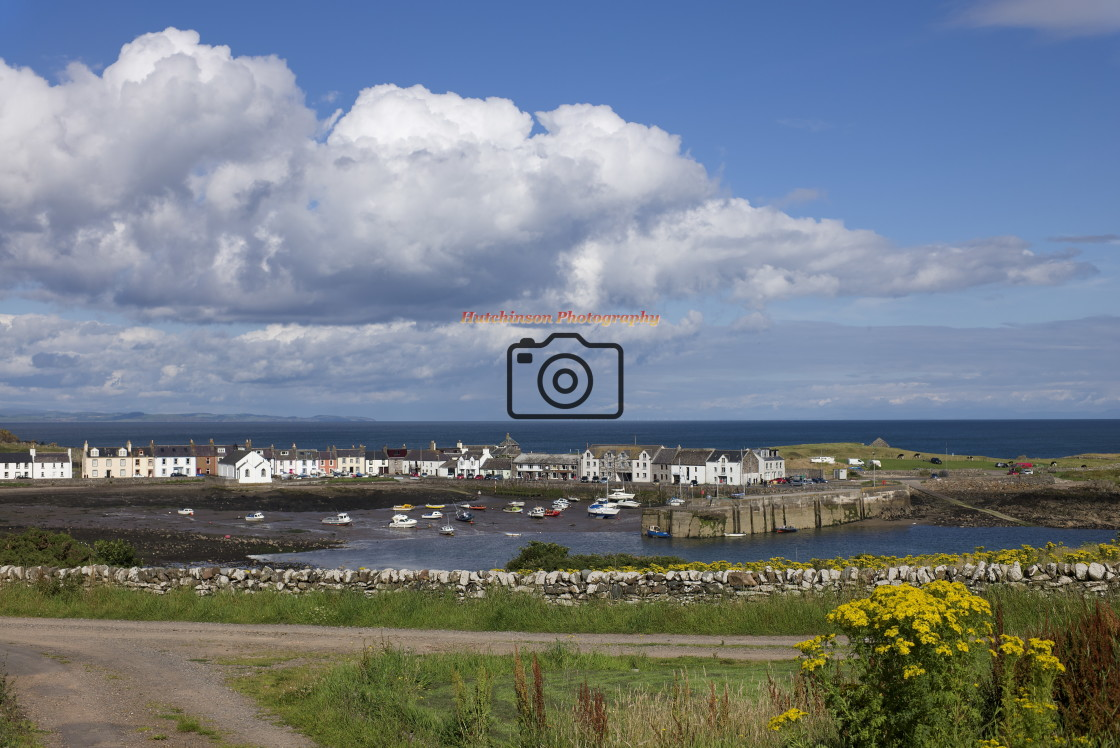 """""""Isle of Whithorn Dumfries and Galloway"""" stock image"""